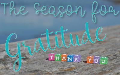 The Season for Gratitude