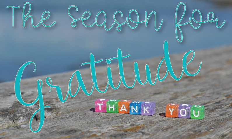 The Season for Gratitude