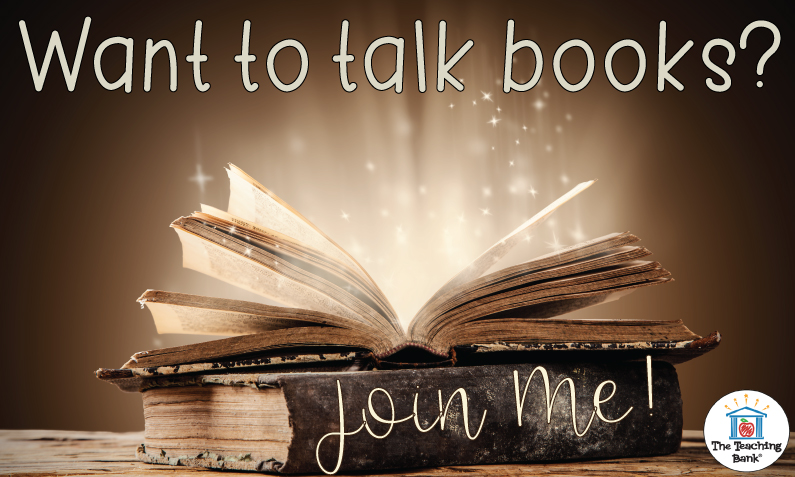 Join in the Book Talk with The Teaching Bank