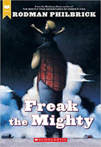 Book cover for the novel Freak the Mighty
