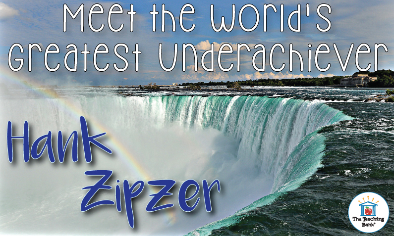Meet the World's Greatest Underachiever, Hank Zipzer!