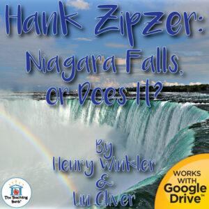 niagara falls with a rainbow