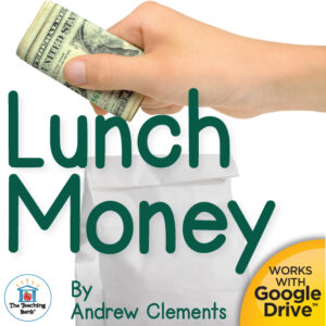 hand putting money into a lunch sack