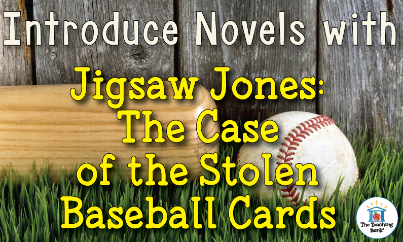Introduce Novels with Jigsaw Jones